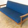 Vintage Retro Guy Rogers Manhattan Teak Mid Century Daybed Sofa Bed