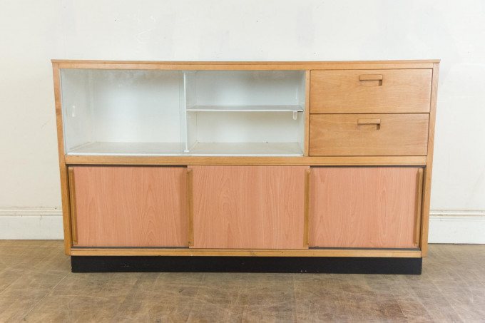 Vintage retro 1950s kandya kitchen storage unit by frank for Vintage kitchen units uk