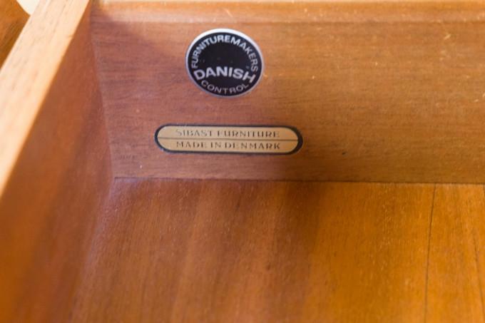 Vintage Retro Teak Danish Arne Vodder Sideboard by Sibast