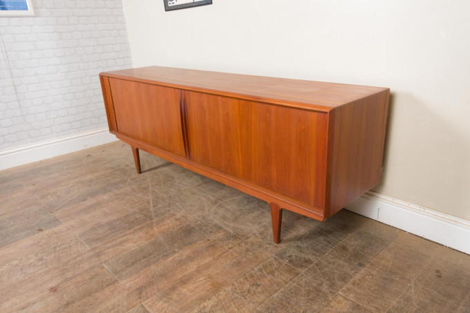 Large Teak Danish Sideboard by Bernhard Pedersen & Sons