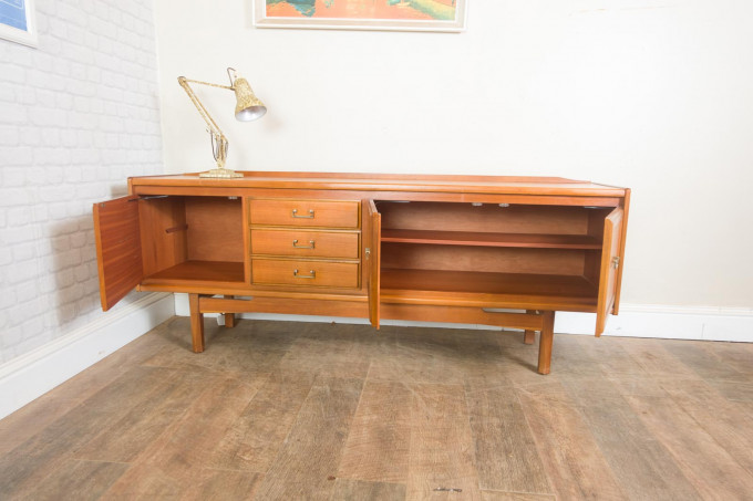 Mid Century Teak Sideboard by William Lawrence