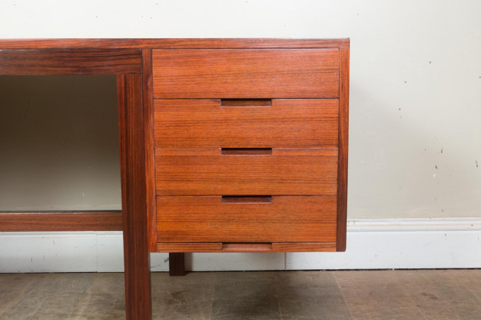 Rosewood Desk by Marcel Breuer for Rufus Stillman