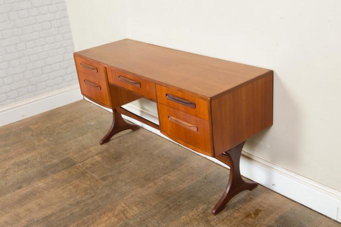 Mid Century Teak Dressing Table Desk by G Plan