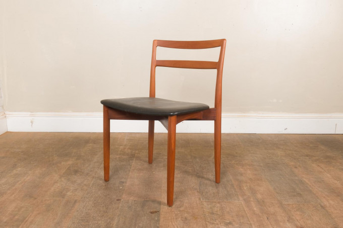 Set of 4 Teak Dining Chairs by Harry Østergaard for A/S Randers